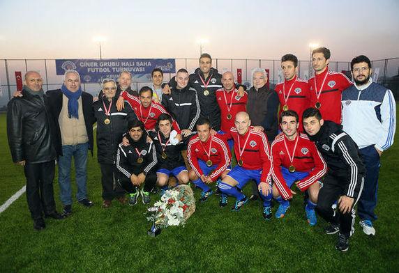 Ciner Turnuvası'nda şampiyon Kasımpaşa Akademi
