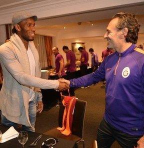 Drogba, Sneijder'a ne anlattı?