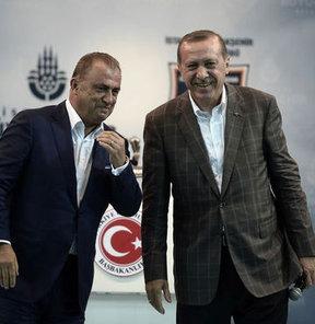 Erdoğan'dan 'Fatih Terim' sürprizi