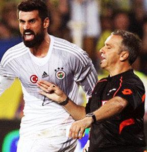 G.Saray Volkan'ı şikayet ediyor!