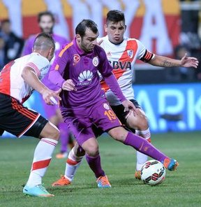 Galatasaray: 1 - River Plate: 1
