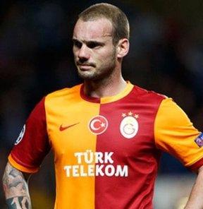 Sneijder'den şok tepki!