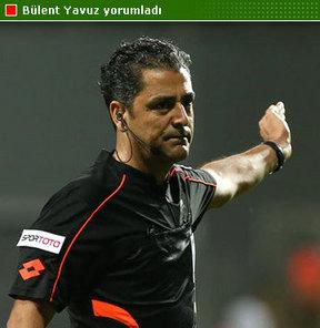 HTSPOR Yazarı Bülent Yavuz, Kasımpaşa-Eskişehirspor maçının hakemi Bülent Yıldırım'ın performansını etkiledi
