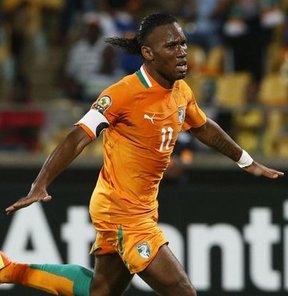 Galatasaraylı golcü Fildişi Sahili'nin Fas ile berabere kaldığı maçta 1 puanı getirdi
