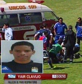 Sporting Cristal ile Real Garcilaso ile oynanan karşılaşma esnasında talihsiz bir olay yaşandı