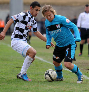 Forsell, yeşil-beyazlı forma altında Süper Lig'de yalnızca 6 dakika görev aldı