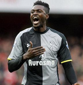 Beşiktaş, Tottenham'da forma giyen golcü Emmanuel Adebayor'u transfer listesinin en başına aldı