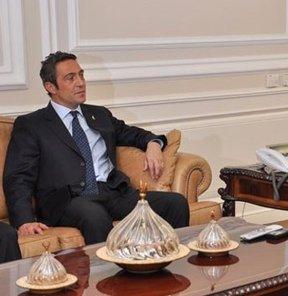 Ali Koç'tan flaş ziyaret