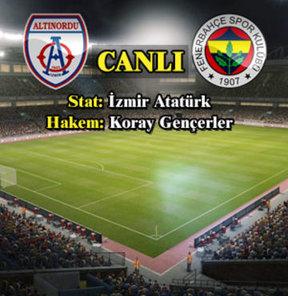 Altınordu – Fenerbahçe