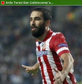 Arda Turan'dan Galatasaraylı futbolculara...