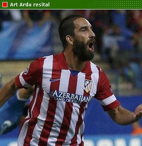 Atletico Madrid, Porto'yu deplasmanda Arda ile geçti.