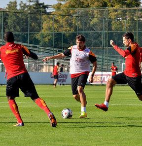 Galatasaray, Spor Toto Süper Lig'in 8. haftasında Kardemir Karabükspor ile oynayacağı karşılaşmanın hazırlıklarını sürdürdü