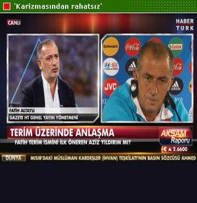 Gazete Habertürk Genel Yayın Yönetmeni Fatih Altaylı yorumladı...