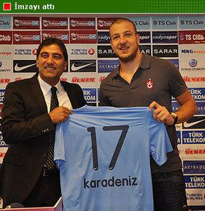 Trabzonspor, geçen sezon Beşiktaş'ta kiralık oynayan Batuhan Karadeniz ile 3 yıllık sözleşme imzaladı