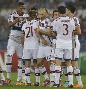 Bayern Münih'ten Roma'ya 7 gol!