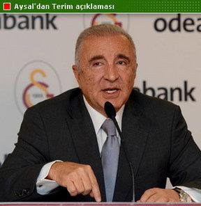 Galatasaray Kulübü Başkanı Ünal Aysal, teknik direktör Fatih Terim ile yolları ayırma kararı hakkında ilk kez konuştu
