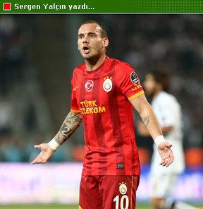 Sergen Yalçın, G.Saray'ın tartışılan ismi Wesley Sneijder'ın durumunu analiz etti