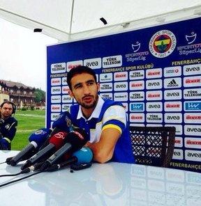 Fenerbahçe'de Mehmet Topal, basın mensuplarının sorularını yanıtladı
