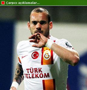 Wesley Sneijder, gelecek sezon çok daha iyi olacağını dile getirdi