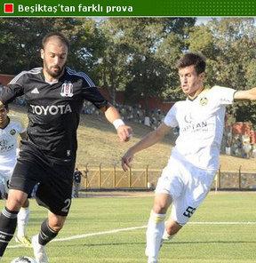 Beşiktaş, Spor Toto Süper Lig'e verilen milli maç arası nedeniyle Bölgesel Amatör Ligi (BAL) takımlarından Tekirdağspor ile yaptığı hazırlık maçını 4-1 kazandı