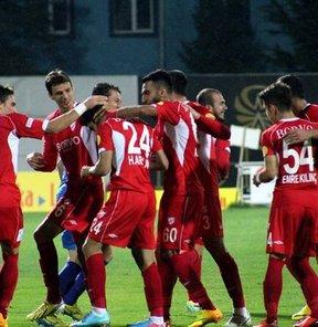 PTT 1. Lig takımlarından Boluspor, sahasında Samsunspor'u 1-0 yendi