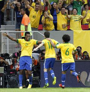 Brezilya galibiyetle başladı
