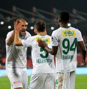 Bursaspor patladı: 5-0!