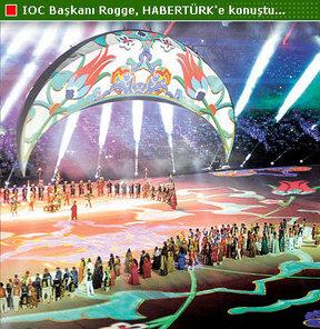IOC Başkanı Rogge, HABERTÜRK'e konuştu...