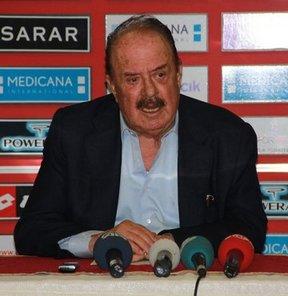 """Gençlerbirliği Kulübü Başkanı İlhan Cavcav, """"Ankara'da sadece bir stat var. Bunun iki hatta üç olması lazım"""" dedi"""
