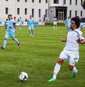 Çaykur Rizespor, Avusturya kampının 2. hazırlık maçında Sırbistan ekibi Hajduk Kula'yı 2-0 mağlup etti