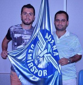 PTT 1. Lig'de mücadele eden Adana Demirspor, iç transferde Kerem Can Akyüz'den sonra Burak Keskin ile de anlaştı