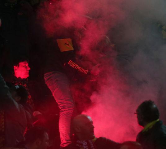 Dortmund'da olaylar…