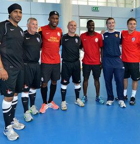 Galatasaray, yeni sezon hazırlıklarına İngiltere'nin Birmingham kentinde devam etti
