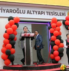 Eskişehirspor Başkanı Halil Ünal Ediz Bahtiyaroğlu Altyapı Tesisi'nin açılış törenini yaptı