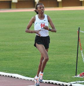 17. Akdeniz Oyunları'nda atletizm kadınlar 10 bin metre finalinde Elvan Abeylegesse gümüş madalya kazandı