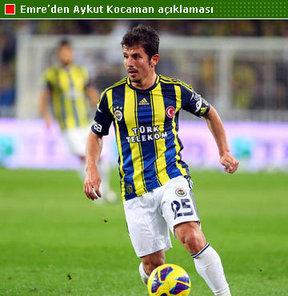 Emre Belözoğlu, Aykut Kocaman'ın daha uzun süre teknik direktörü yapacağı için Fenerbahçe ile yollarının yeniden kesişeceğini düşündüğünü bildirdiEmre Belözoğlu, Aykut Kocaman'ın daha uzun süre teknik direktörü yapacağı için Fenerbahçe ile yollarının yeni