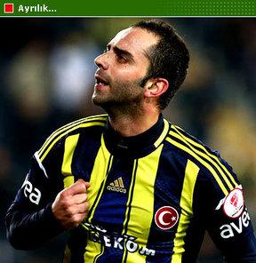 Fenerbahçe Kulübü, milli futbolcusu Semih Şentürk ile yollarını ayırıyor.