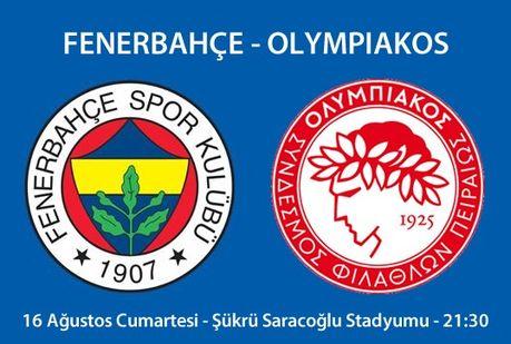 Fener'in rakibi Olympiakos