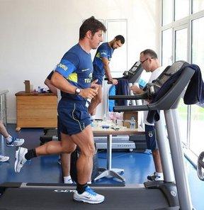 Fenerbahçe, ikinci etap çalışmaları için Düzce'deki Topuk Yaylası Tesisleri'ne gitti
