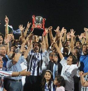 Spor Toto 2. Lig play-off finalinde Fethiyespor, Hatayspor'u 2-1 yenip PTT 1. Lig'e yükseldi