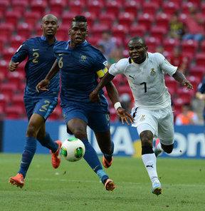 FIFA 20 Yaş Altı Dünya Kupası A Grubu'nda yapılan ilk maçta Fransa, Gana'yı 3-1 yendi.