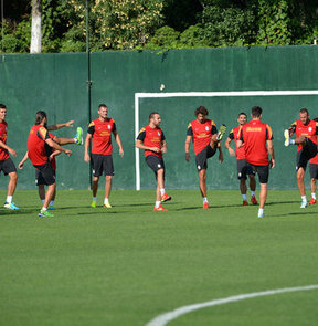 Galatasaray, yeni sezon hazırlıklarına İstanbul'da devam ediyor