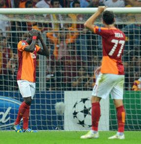 Galatasaray'a ağır yenilgi