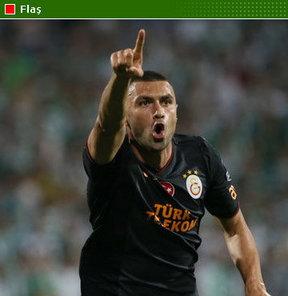 Galatasaray'dan Burak Yılmaz açıklaması...