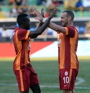 Galatasaray'dan yarım düzine gol!