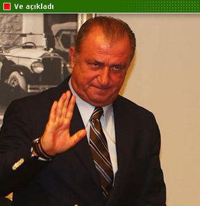 """""""Galatasaray'ı terk etmek olmaz. Aslolan Galatasaray, var olan Türkiye'dir"""" diyen Terim, Milli Takım'daki yardımcısının Hamza Hamzaoğlu olacağını söyledi."""