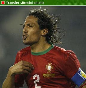Transfer sürecinden anlatan Portekizli savunma oyuncusu, Fenerbahçe'yi kendisinin tercih ettiğini söyledi