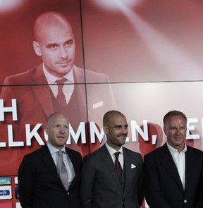 Guardiola basına tanıtıldı