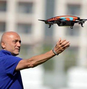 Bursaspor, yeni sezon hazırlıklarını sürdürdü, Helikopterli idman