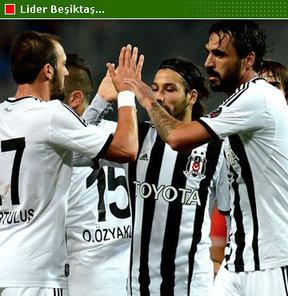 Beşiktaş tutulmuyor... Kara Kartal, Spor Toto Süper Lig'in 3. haftasında Gaziantepspor'u da 2-0 yendi; puanını 9'a çıkarıp liderliğini sürdürdü. Olimpiyat Stadı'ndaki maçta Beşiktaş'a galibiyeti getiren golleri Hugo Almeida attı.
